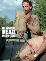 Rick and Pig season 4 The Walking Dead by twdmeuvicio