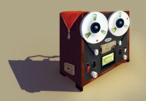 Tape machine by stasiyaalexandrova