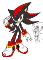 Practice- Shadow the hedgehog by termina-the-wolf