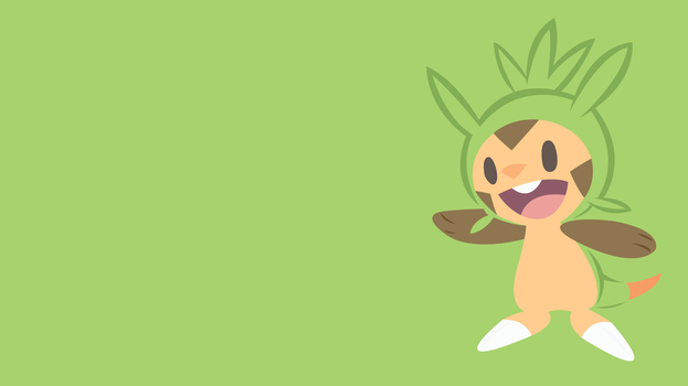 Chespin by LimeCatMastr