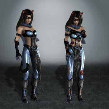 Injustice Catwoman AmeComi by ArmachamCorp