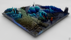 3D Topographies - Environment by spiritdsgn