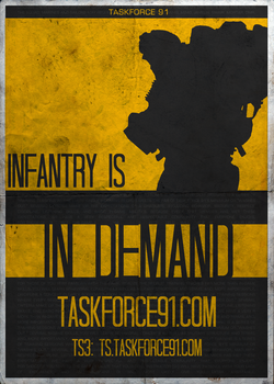 Task Force 91: Infantry Needed! by BTedge116