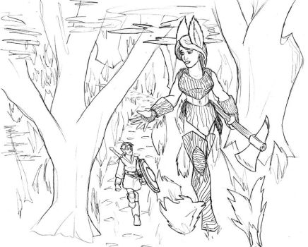 walk in the woods by TriffRaff