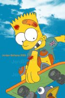 Bart Simpson Coloured by JordanB1