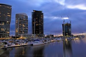 City Lights by FlabnBone