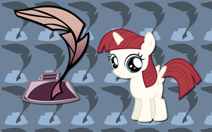 OC Filly Lauren Faust WP by AliceHumanSacrifice0