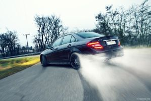 Mercedes-Benz C63 AMG - 3 by mystic-darkness