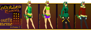 ::UR:: Tzilla Outfit Meme 2 by HastyLion