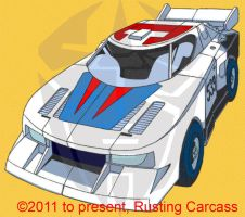 Wheeljack Marvel G1 altmode by PiusInk