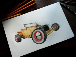 1920 Ford T by Kubka