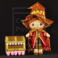 Rincewind and the Luggage by Ptite-Camomille