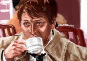 Coffee!Cas by Mlle-Tenebrist