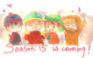 Southpark 4 kids by carineyy