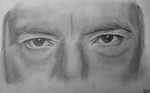 Drawing Alan Rickman Eyes by wylie-schatz