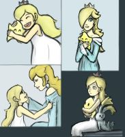 Rosalina and Luma by PfantzyPantz