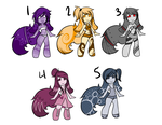 Open Adopts! (3/5) by HisMajestyLute