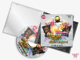 CD cover for Dj SoundBoy Prev by BraveDesign