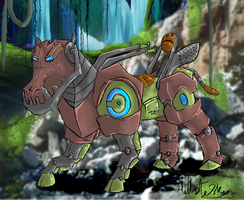 Hippo Mecha. by Hills-to-Sky