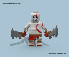Lego Kratos - God of War by seancantrell