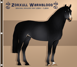Zorxull Warmblood 20 | Custom Import | by Casiro