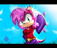 Sonia the Hedgehog by Venetia-TH