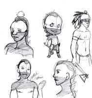 Native New York sketches by Alexander-Rowe