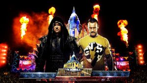 WM 29 ~ HD Wallpaper ~ Taker vs Punk by MhMd-Batista