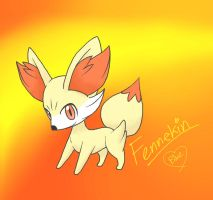 Fennekin by Bluekiss131