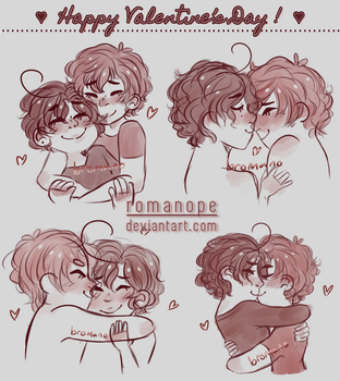 aph : happy valentine's day! by romanope