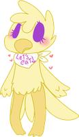Chica / godess birb by ghostiibear