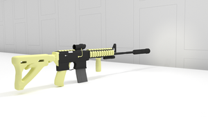 Ar 15 Silenced by jensdevries