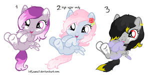 Foal adoptables!! ~ Closed by IxKawaii