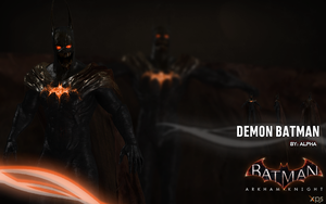 Batman Arkham Knight - Batman (Demon) by XNASyndicate