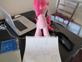 Pinkie doodle finish by Template93