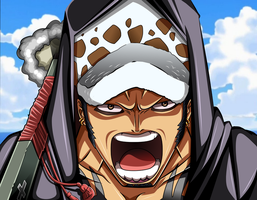 Trafalgar Law_One Piece 713 by MadBax