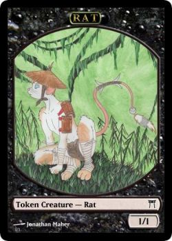 Rat Token by FuzzlesTheFuzzler