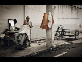 Indonesian Traditional Barber by dudiksdjpt