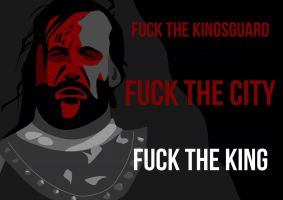 Sandor Clegane from Game of Thrones by GreGfield
