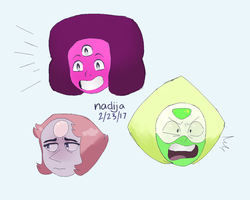 .:Steven Universe:. warmup doods by Angry-Green-Pie