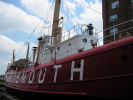 The Lightship Portsmouth by Galactia-3000