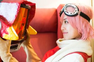 FLCL: Haruko 006 by chinasaur