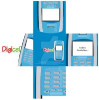 Concepts: Digicel Mobile by SmithByDesign