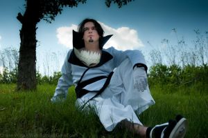 Coyote Starrk the First Espada Bleach Cosplay by OxfordCommaCosplay