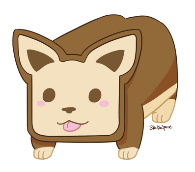 Puppyloaf by BlankInSpace
