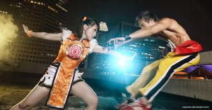 Xiaoyu vs Marshall Law by Lilaeroplane