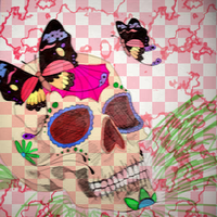 Day of the Dead Color by inuyashalover1213