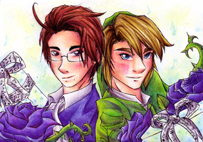 Link and Austria at your service by HyliaBeilschmidt