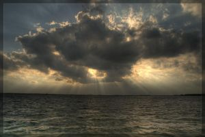 Eemmeer sunset by Intrepidity87