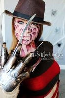Freddy Krueger (All Eyeshadow Application) by MadeULookbylex